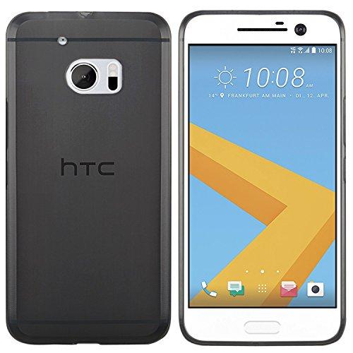 moodie Silikonhülle für HTC 10 Hülle in Schwarz - Hülle Schutzhülle Tasche für HTC 10