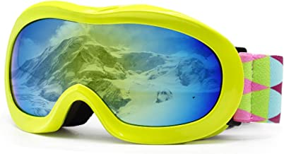 picador Kids Ski Goggles Excellent Impact Resistance Anti-Fog Lens 100% UV Protection Boys & Girls