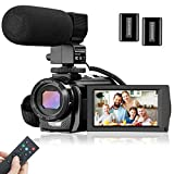 Best Camcorders - Video Camera Camcorder, FHD 1080P 30FPS 24M Vlogging Review