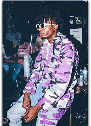 Tela De Lienzo Sin Marco 60x90cm Playboi Carti Rap Hip Hop Music Singer Rapper Star Oil ArtPrint Imagen de decoración del hogar