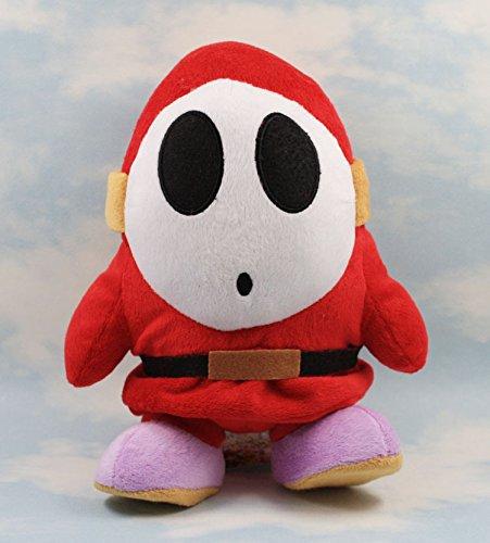 zcm Peluche poupée 17 Cm Timide Guy Super Mario Bros en Peluche Jouets Doux en Peluche Porte-clés en Peluche Poupée Bébé Poupées