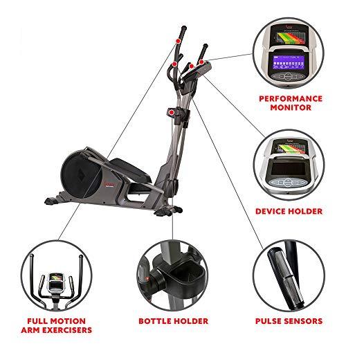 Sunny Health & Fitness Elliptical Trainer Machine