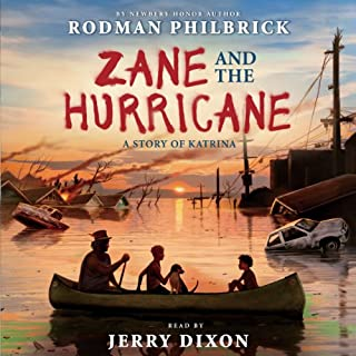Zane and the Hurricane audiobook cover art