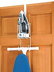 commercial Whitmor Wire Over the Door Ironing Board-Organizer for ironing and ironing board storage iron boards