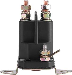 Zetiling Anlassermagnet, Universal Anlassermagnet 12 V Rasenmäher Magnetschalter Teileverwendung für Zubehör 109946 146154 1753539 AM138497(33 331)