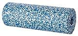 BODYMATE Faszienrolle Härtegrad Weich mit Gratis E-Book - Blau/Weiß 45x15cm