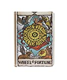 Tarot Card 6 PU Leather Passport Wallet Holder Cover Fun Travel Organiser Gift for Men&Women Travel Accessory Credit Card Ticket Cashes