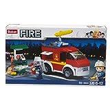 LIBROLANDIA Giocheria POS190002 SLUBAN - Camión y estación de bomberos