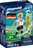 PLAYMOBIL- Sports & Action Jugador de Fútbol, Alemania, Multicolor (70479)