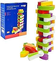 Arkmiido Torre de Bloques de Madera de Juego de Torre Modelo Vegetal, Juguetes de Madera,Juguetes educativos para niños...