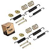 Workhorse Brake Hardware - 10L0L Golf Cart Brake Spring Kit for Yamaha EZGO TXT,Bendex Spring Kit Drum Brake Shoe Hardware Kit fit Yamaha G14-G22 EZGO Medalist/TXT 97 UP, Workhorse 96 UP,OEM 27944G01,JG5819G-00(2 Sets)