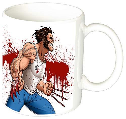 MasTazas X Men Wolverine Lobezno Taza Ceramica