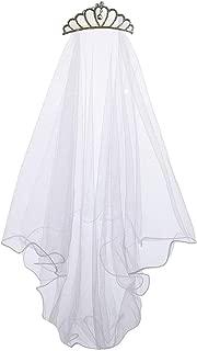 communion veil with tiara