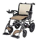 LLSS Scooter eléctrico para Adultos con Silla de Ruedas para discapacitados, Motor de Alta Potencia de 500 W Que Puede equiparse con baterías de Litio duales