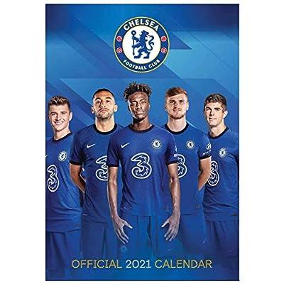 Official Chelsea FC (Premier League) 2021 Football Calendar (A3)