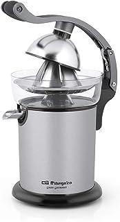 Orbegozo EP 4000 - Exprimidor zumo eléctrico de naranjas con brazo articulado, acero inoxidable, 130 W de potencia, motor ...