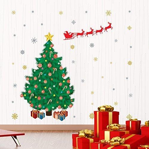 Wallflexi Kerstdecoratie Muurstickers