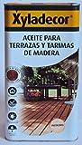 Xyladecor 5088762 - Aceite INCOLORO para terrazas y tarimas de madera Xyladecor