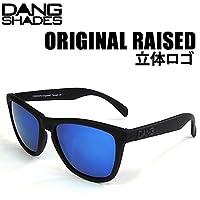 DANG SHADES DANG SHADES ダンシェイディーズサングラス ORIGINAL RAISED BLACK ソフト x BLUE MIRROR VIDG00026-2