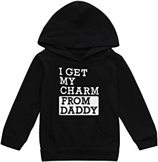 Baby Girl Sweater,Tronet Toddler Kids Baby Boys Hooded Sweatshirts Infant Letter Blouse Hoodies Tops