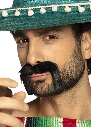 Bâton de Bandit mexicain sur la fausse Moustache
