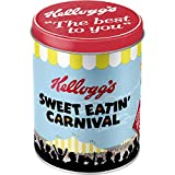 Nostalgic-Art 30509 Kellogg's Sweet Eatin Carnival, Vorratsdose Rund