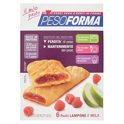 Pesoforma Biscuits aux framboises et Apple 12 Pieces