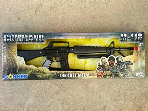 Army Toys Cap Gun Rifle M16 - 8-Shot Gonher M-118