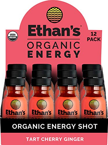 top rated Ethan's Organic Energy Drink, Spicy Cherry Ginger, Vegan, Gluten Free, Green Tea Extract, … 2020