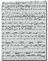 DIYスクラップブッキングフォトアルバム用の楽譜透明クリアシリコンスタンプシール装飾クリアスタンプC6