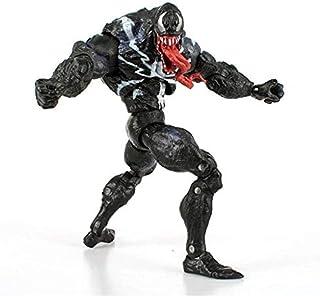 UanPlee-SC Regalo Spiderman Venom Modelo Anime Cartoon Manga Milagro Milagro Juguete Magia Acción Personaje PVC Colección Modelo Juguete -18cm Coleccionables
