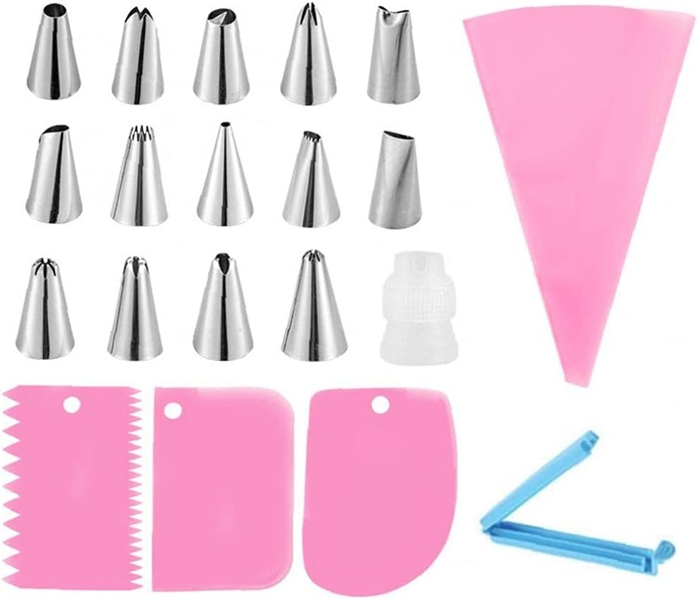 Baking Gadget Piping Nozzles Silicone Cake Special Campaign Bag Pastry Decora Luxury goods Kit