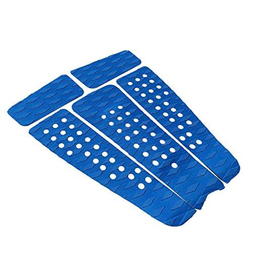 sharprepublic 5Pcs / Set EVA Kiteboard Traction Pad Agarres de Cubierta Antideslizantes para Yates - Azul