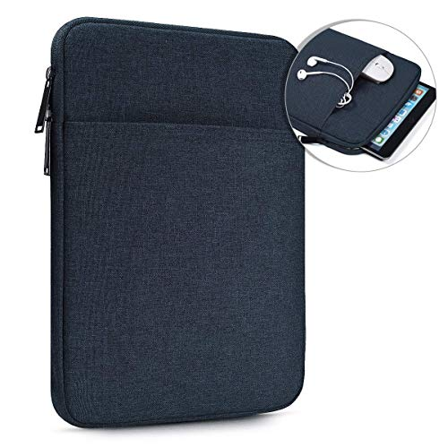 10 Inch Water Resistant Tablet Sleeve Case for Samsung Galaxy Tab S5e S6 10.5/Galaxy Tab A 10.1, Lenovo Smart Tab 10 M10 P10 10.1, iPad Pro 11 10.2 9.7/iPad Air 3 10.5, Fit Apple Smart Keyboard