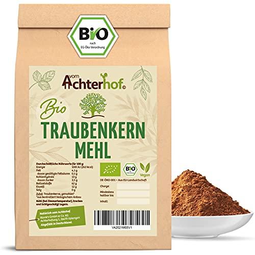 Traubenkernmehl Bio (1kg) Traubenkern-Pulver vom-Achterhof