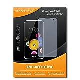 SWIDO Schutzfolie für LG K4 [2 Stück] Anti-Reflex MATT Entspiegelnd, Hoher Festigkeitgrad, Schutz vor Kratzer/Bildschirmschutz, Bildschirmschutzfolie, Panzerglas-Folie
