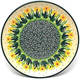 Polish Pottery Plate - Salad 4