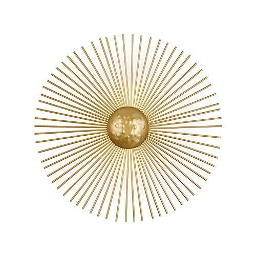Wandlamp minimalisme stijl luxe woonkamer achtergrond slaapkamer nachtkastje wandlamp zon gemonteerd diameter 30 cm