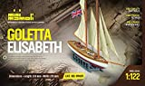 MINI MAMOLI - Modello Kit Barca GOLETTA Elisabeth Serie MINIMAMOLI Scala 1:122 - DUS_MM69
