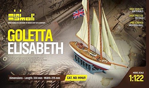 MINI MAMOLI - Modello Kit Barca GOLETTA Elisabeth Serie