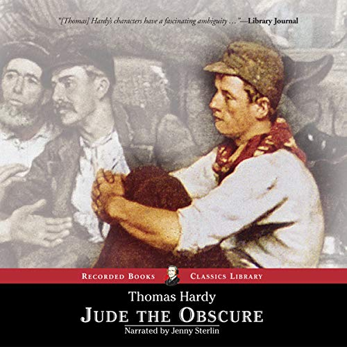 Jude the Obscure audiobook cover art