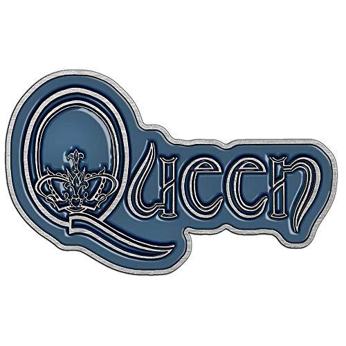 Queen METALL PIN # 5 LOGO ANSTECKER BADGE BUTTON - 5x3cm