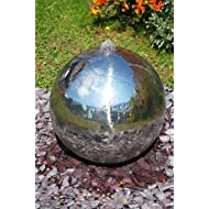 Polished Stainless Sphere Feature Lights
