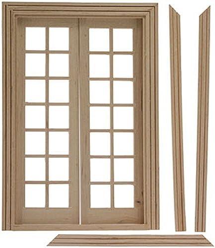 marcas de moda Dollhouse Miniature Double French Doors for for for Interior or Exterior by Classics  ordene ahora los precios más bajos