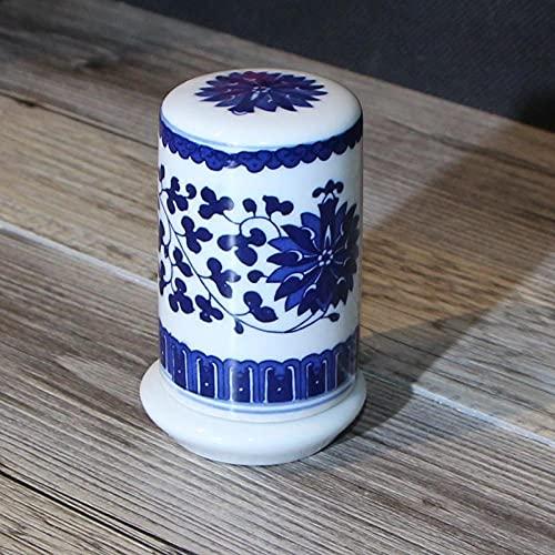 Tubo dental azul de cerámica de la caja-forestal de la caja dental del hotel del hotel de la ciudad de Jingde signos faracemmal
