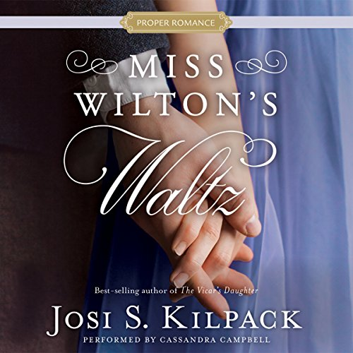 Miss Wilton's Waltz audiobook cover art
