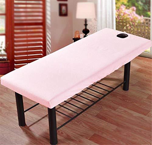 Beiswin Bürsten Beauty Bed Trampolin Decke Beauty Salon Matratze Staubschutz Bett Massage Bettdecke (Pink)