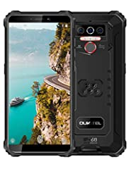 【Rugged Phone with Big Battery】Works time longer than other brands, Go up to three days on a single charge thanks to a 8000 mAh battery, also you can use it charge your other devices by using an OTG cable and will be not worried about the battery pow...