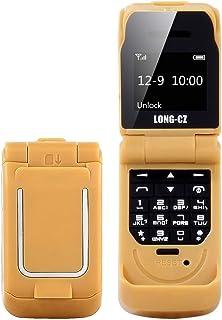 Mobile Phones & Communication Long-CZ J9 Mini Flip Style Mobile Phone, 0.66 inch, 18 Keys, Support Bluetooth, FM, SOS, Ant...