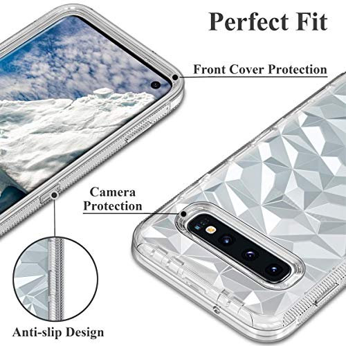 CHEERINGARY Case for iPhone 11 Case Heavy Duty Protective Shockproof Anti-Scratch Cover for Men Women iPhone 11 Case Full Body Protection Dust Proof Anti-Slip Cover for iPhone 11 6.1 inches White